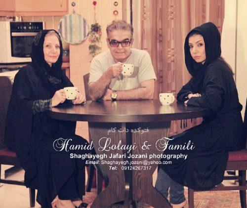 عکس خانوادگی حمید لولایی, عکس دختر و همسر حمید لولایی + بیوگرافی