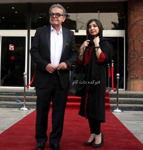 عکس حمید لولایی و دخترش + بیوگرافی