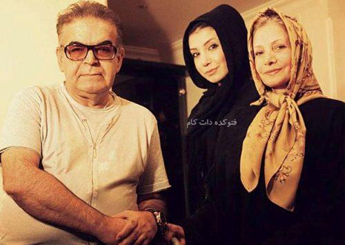 عکس حمید لولایی و همسرش + دخترش