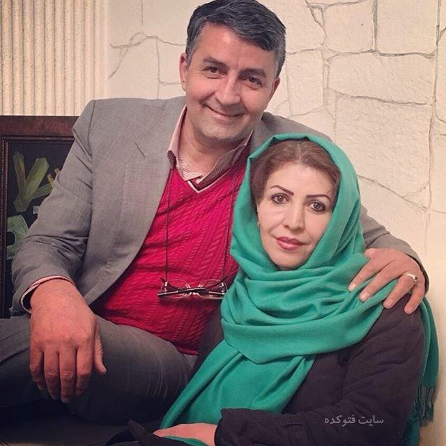 عکس حمید ماهی صفت و همسرش + بیوگرافی