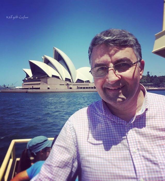 عکس و بیوگرافی حمید ماهی صفت و همسرش