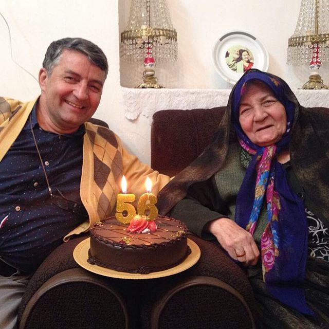 عکس حمید ماهی صفت و مادرش + بیوگرافی