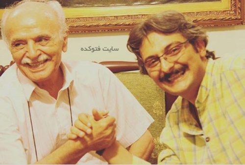 حمید منوچهری و پسرش امیر