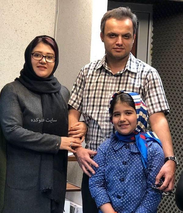 حمید محمدی و همسرش مریم ولدی + بیوگرافی