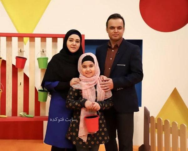 همسر حمید محمدی گوینده ورزشی + بیوگرافی