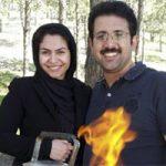 حمیدرضا رنجبر و همسرش فاطمه ملایی + بیوگرافی کامل