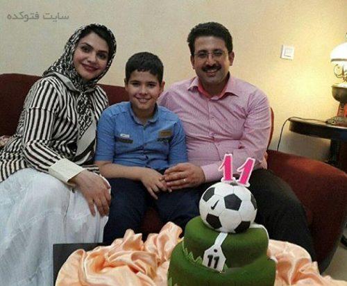 عکس خانوادگی حمیدرضا رنجبر آشپز