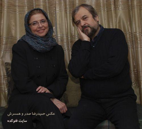 عکس حمیدرضا صدر و همسرش مهرزاد دولتی + بیوگرافی کامل