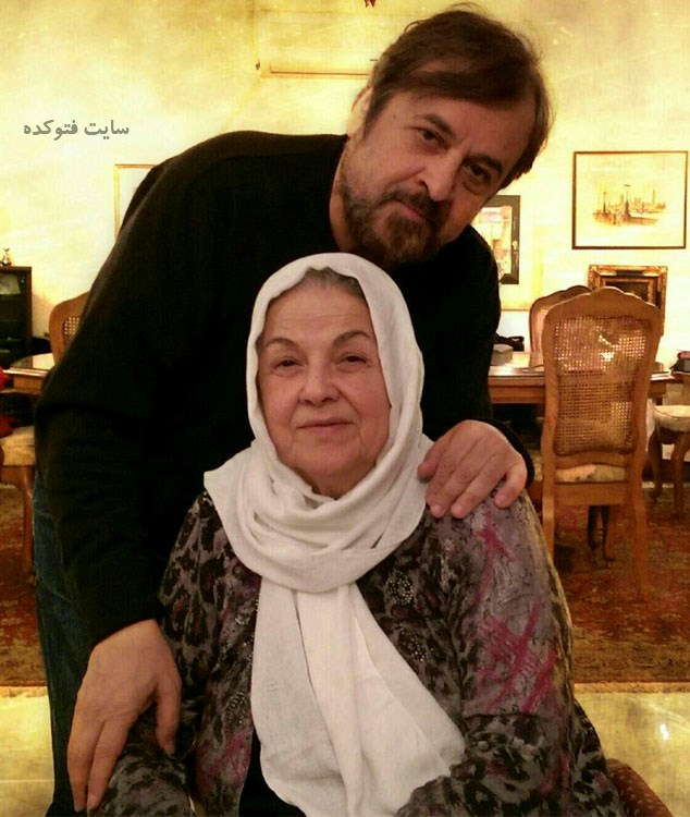 عکس حمیدرضا صدر و مادرش + بیوگرافی و خانواده