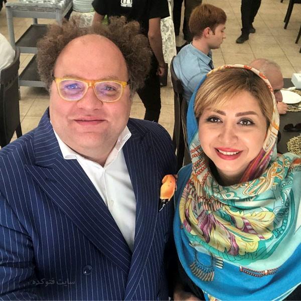 عکس مسترتیستر و همسرش پگاه سپیدنام