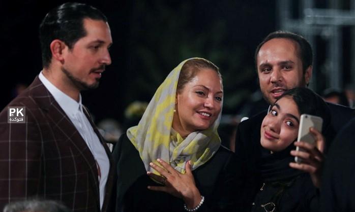 عکس مهناز افشار و همسرش محمد یاسین فرزین  hamsaran-bazigaran-photokade (07)