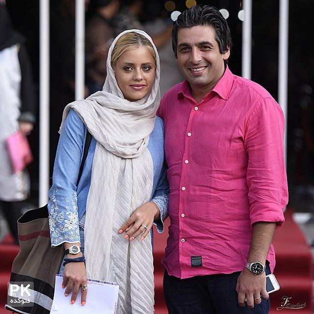 عکس حمید گودرزی و همسرش ماندانا دانش ور