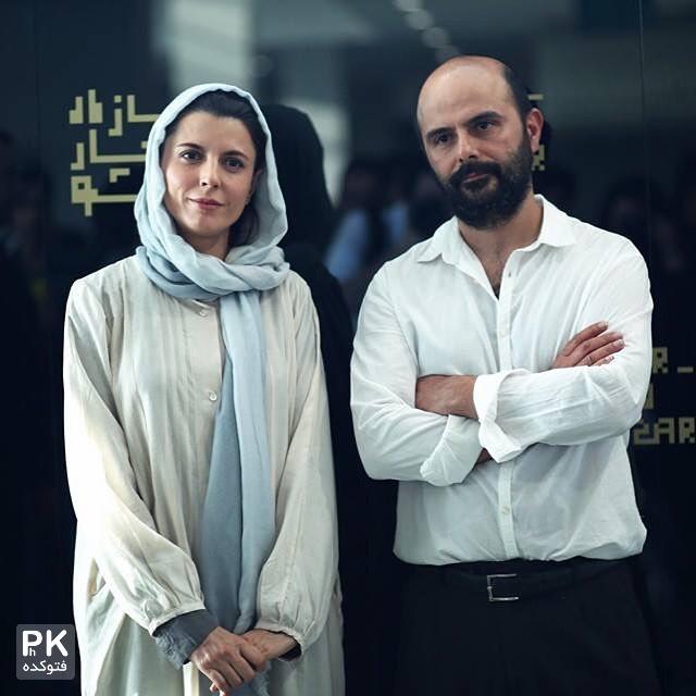 عکس لیلی حاتمی و همسرش علی مصفا