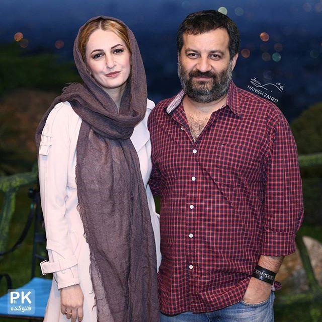 عکس شقایق دهقان و مهراب قاسم خانی