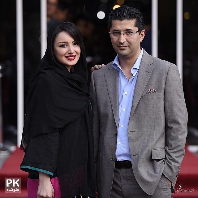 عکس شیلا خداداد و همسرش فرزین سرکارت