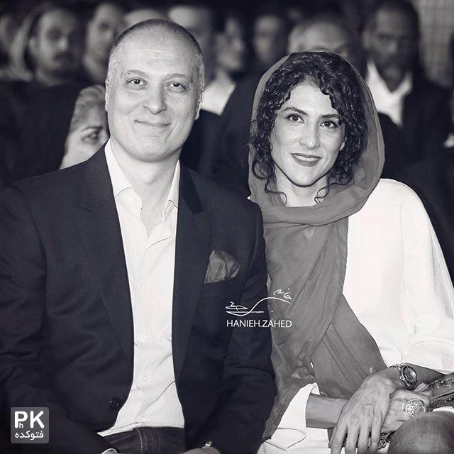 عکس ویشگا آسایش و همسرش رضا قبادی