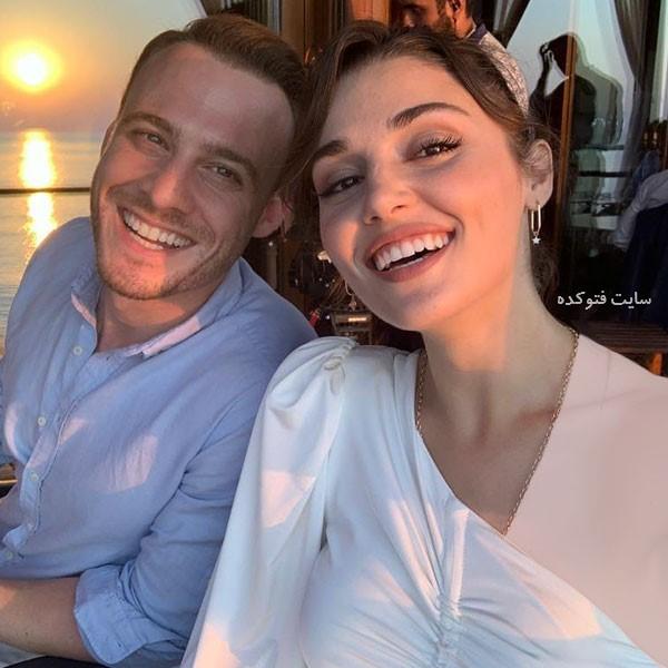 عکس هانده ارچل Hande Erçel و کرم بورسین با شایعه ازدواج