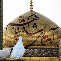 متن و عکس نوشته پروفایل حرم امام رضا