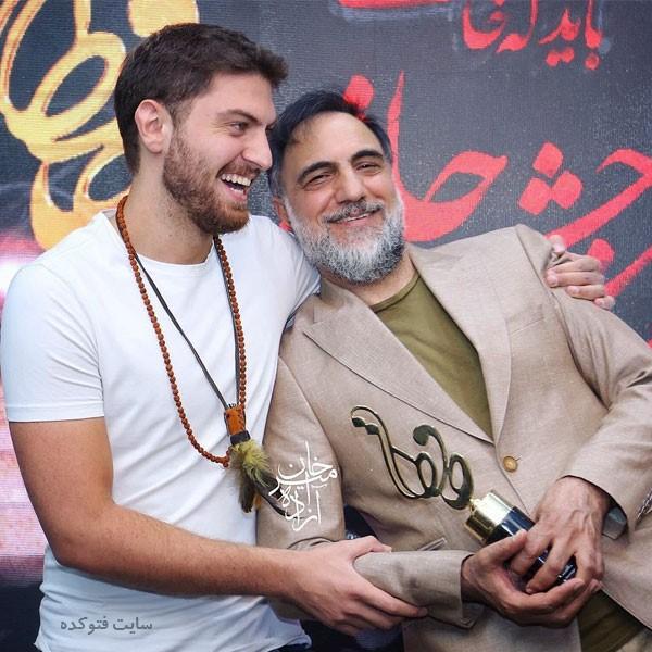 عکس های حسن فتحی و پسرش امیرحسین فتحی + زندگی شخصی