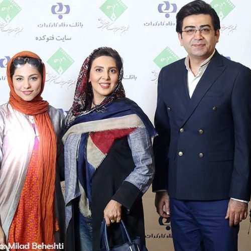 عکس فرزاد حسنی و لیلا بلوکات و محیا اسناوندی