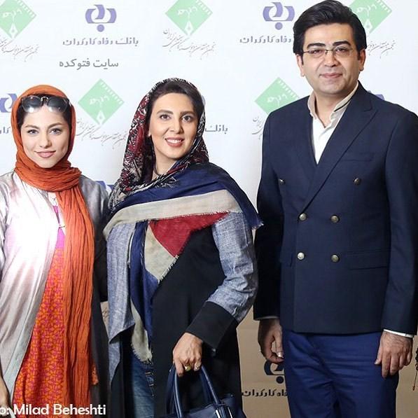 عکس فرزاد حسنی و لیلا بلوکات و محيا اسناوندی