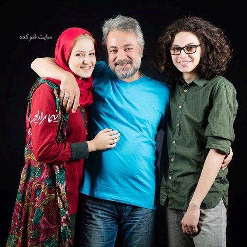 عکس حسن جوهرچی در کنار پسرش علی و دخترش آوا + بیوگرافی