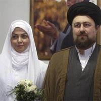 حمایت آزاده نامداری از سید حسن خمینی