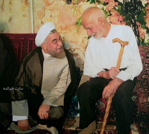 عکس حسن روحانی و مرحوم پدرش + زندگینامه کامل