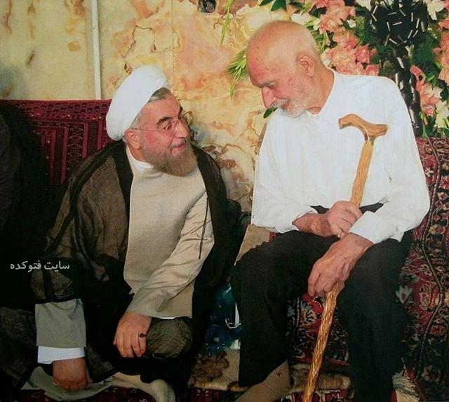 حسن روحانی و مرحوم پدرش + زندگینامه کامل