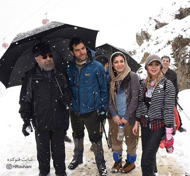عکس های لدون سانسور حسن فریدون رئیس جمهور