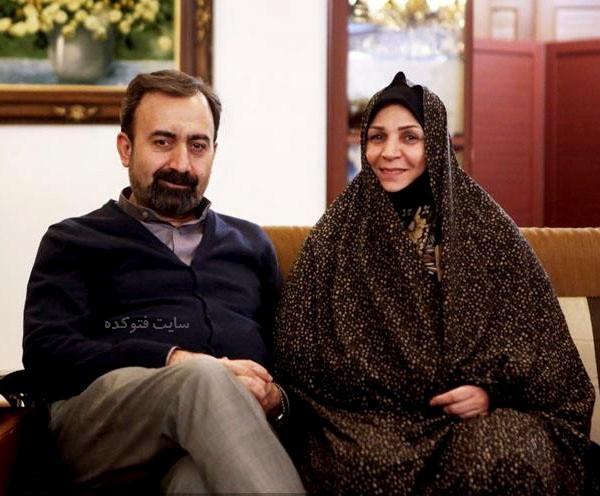 حسن سلطانی و همسرش نرگس فرامرزی + بیوگرافی کامل