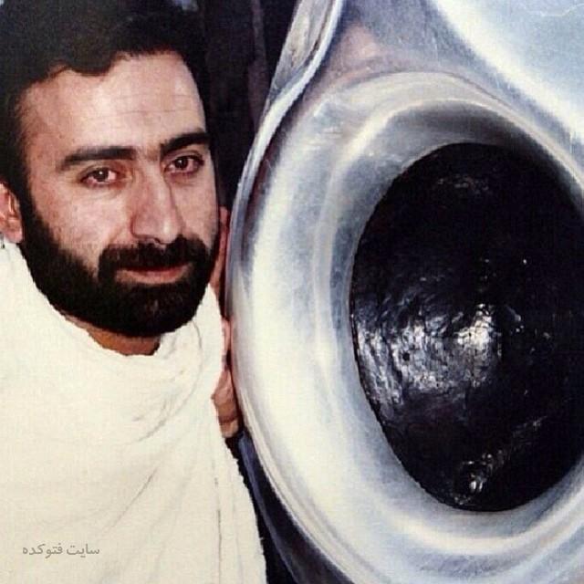 عکس حسن سلطانی در مکه
