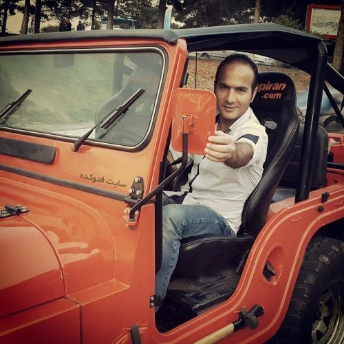 عکس ماشین حسن ریوندی