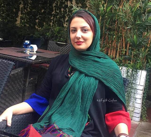 عکس الهه حسینی بازیگر سریال هاتف