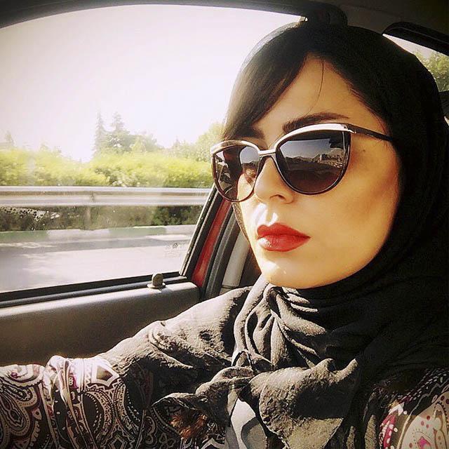عکس مهتاب شکریان بازیگر سریال هاتف