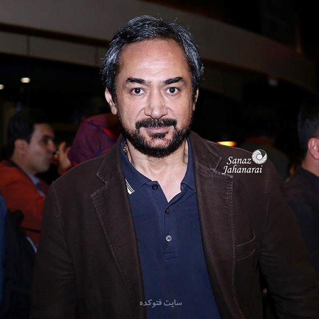 عکس محمد حاتمی بازیگر سریال هاتف