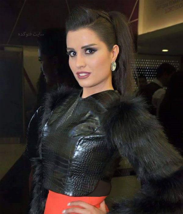 عکس و بیوگرافیآن ماری سلامه بازیگر سریال حوالی پاییز