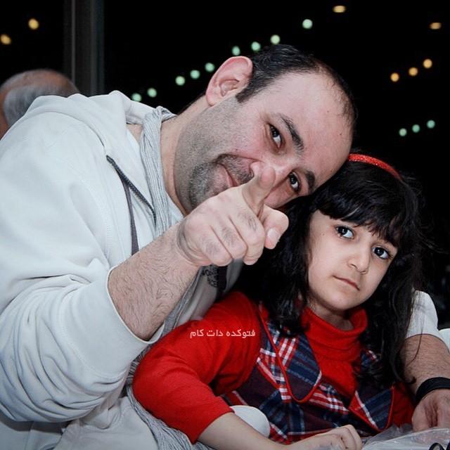 عکس هدایت هاشمی و دخترش اما