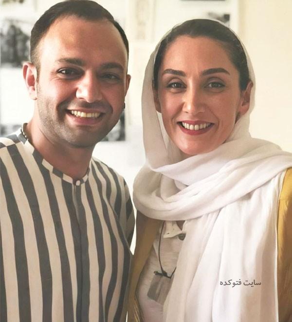 عکس هدیه تهرانی و صابر ابر