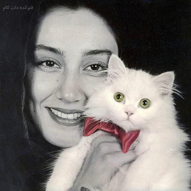عکس هدیه تهرانی و گربه اش با بیوگرافی کامل