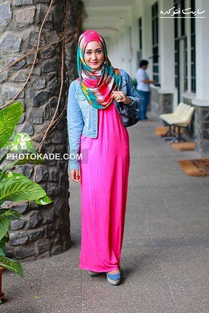 مدل لباس های خوشگل و روز اسلامی,زیباترین دختران اسلامی با مدل لباس پوشیده و خوشگل,عکس خفن دختر
