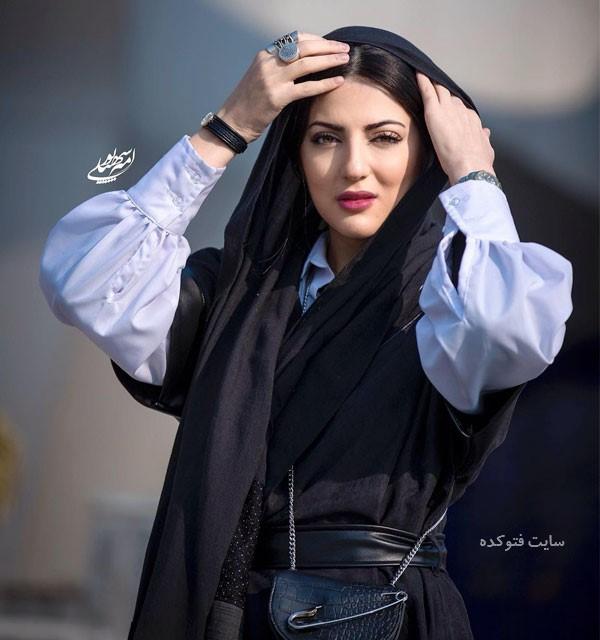 عکس بیوگرافی بازیگر نقش آذر سریال دادستان کیست