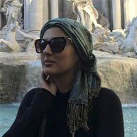 عکس های هلیا امامی در ایتالیا و فرانسه در عید نوروز