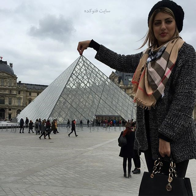 تصاویر Helia Emami در فرانسه