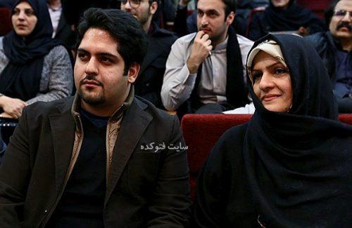 همسر حسام الدین سراج و پسرش