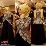 مدل های لباس مجلسی باحجاب 2016