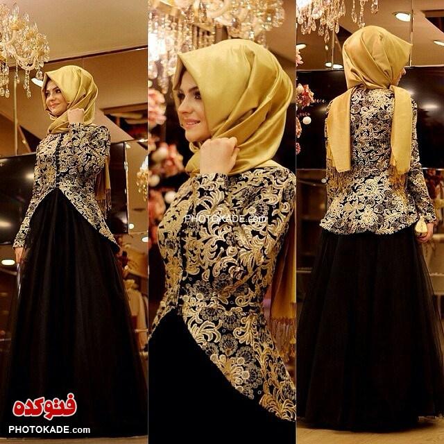 مدل های لباس مجلسی باحجاب ۲۰۱۶