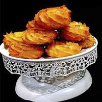 طرز تهیه بامیه هندی شیرینی سفره افطار