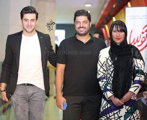 عکس جدید سام درخشانی و همسرش عسل امیرپور در کنار علی ضیا