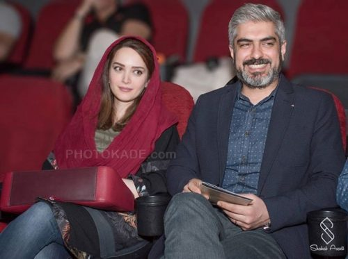 عکس جدید مهدی پاکدل و همسرش بهنوش طباطبایی